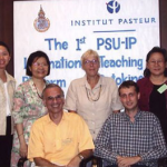 Prince of Songkia University (Hat Yai, Thailand) - Institut Pasteur international teaching platform on cytokines organized by Dr Adrien Six (Institut Pasteur) and Dr Suvina Ratanachaiyavong (Ha Yai Faculty of Medicine) - Sept. 2002
