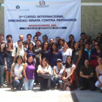 "3rd International Course ""Innate Immunity against Pathogens"" organized by Eva Salinas, (Autonomous University of Aguascalientes) and D. Scott-Algara (Inst. Pasteur, Paris)- Aguascalientes (Mexico), Sept 2012"