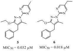 alkoxypyrazole antiviral 2
