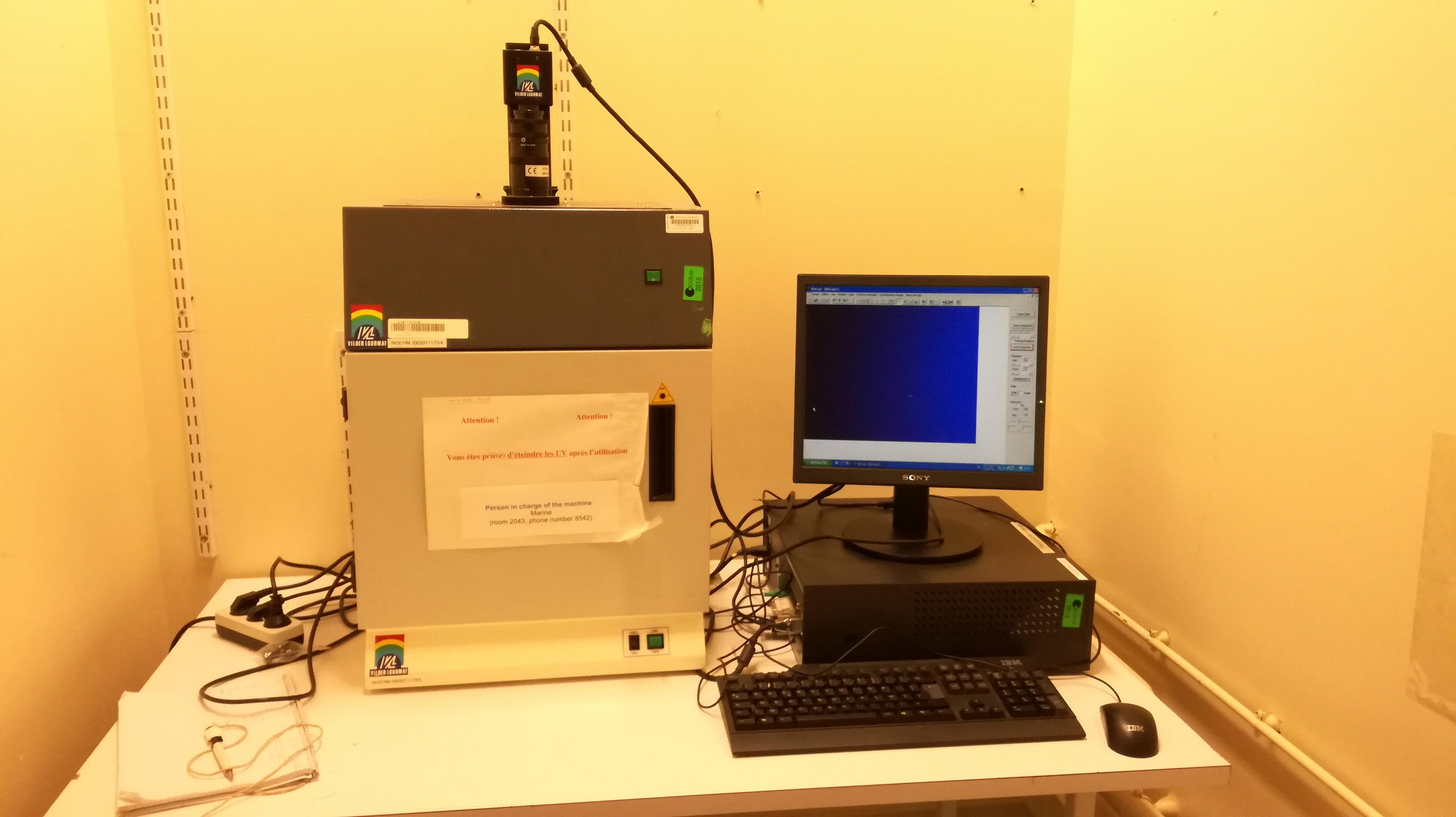 Camera UV • Research - Institut Pasteur