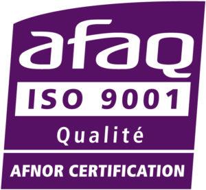Logo AFNOR ISO9001