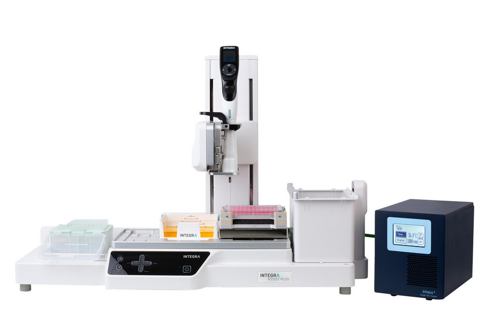Robot pipetage Integra Assist Plus